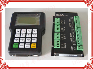 Control system: RichAuto A11E DSP hand shank control system with USB interface